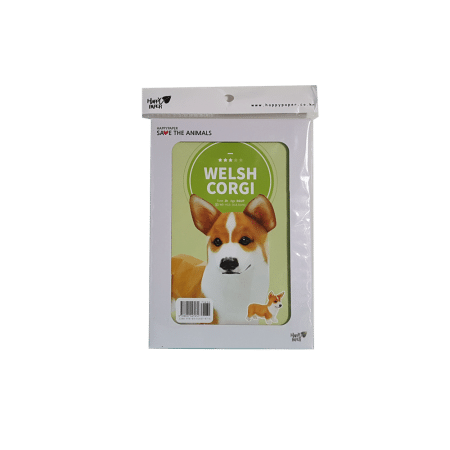 Diy paper toy chien welsh corgi