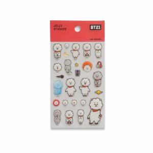 Stickers BT21 RJ gel – produit officiel BTS