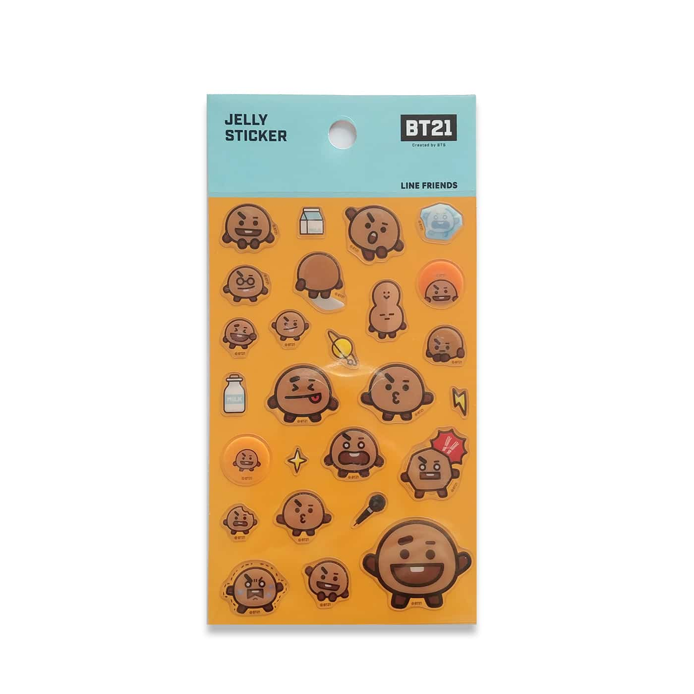 Stickers BT21 Shooky - Jelly