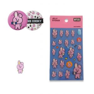 Lot BT21 Cooky – produits officiels BTS