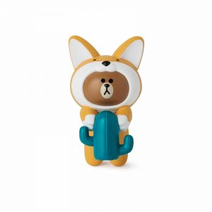 Figurine de tasse Sandy Brown – Line Friends
