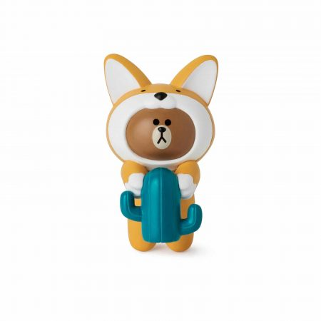 Figurine de tasse Sandy Brown - Line Friends
