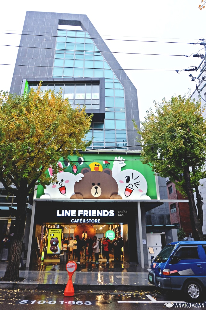 Magasin Line Friends